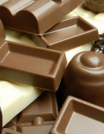 Таблица калорийности шоколада и шоколадных конфет