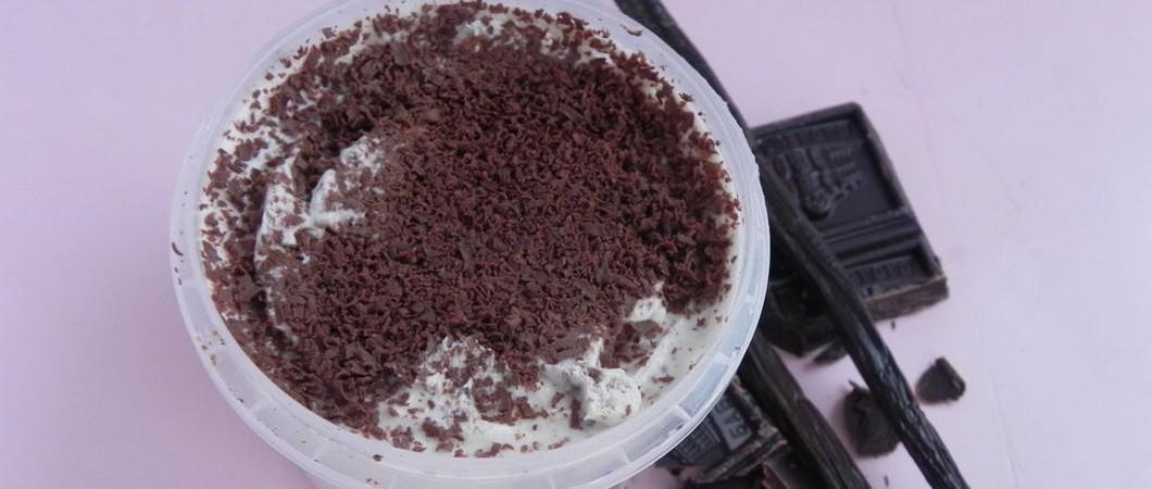 Шоколадный скраб «Ванильное небо»