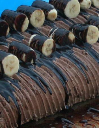 Шоколадные торты с бананами: рецепты для мультиварки и духовки