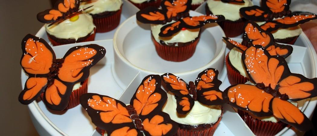 Бабочки из шоколада на торт: мастер-класс