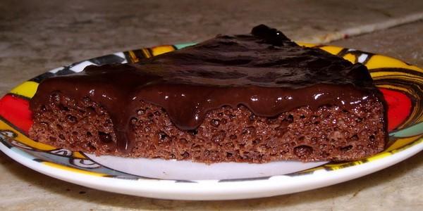 Глазурь для торта из шоколадки