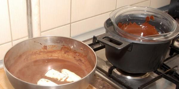 Как сделать топлёный шоколад фото 67