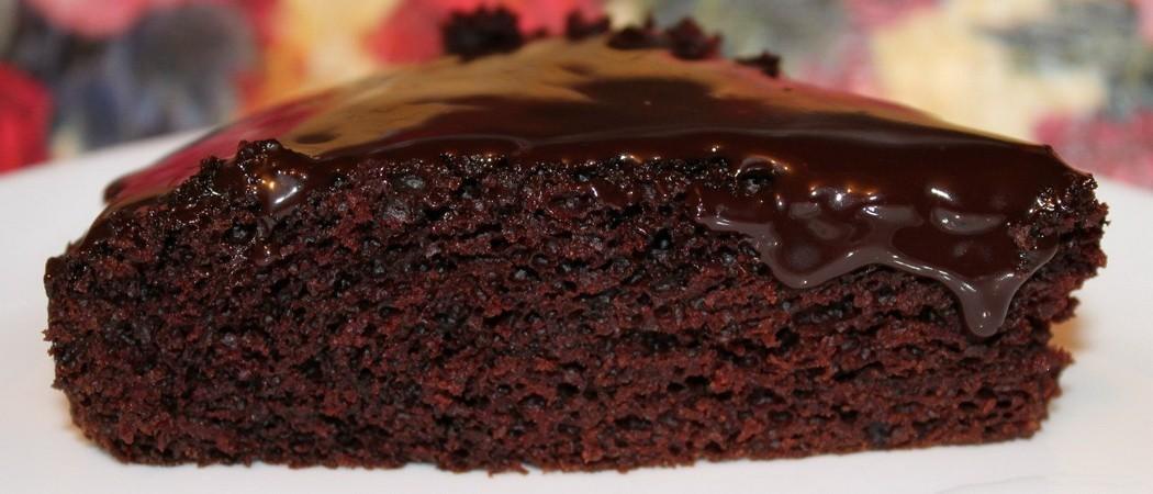 Вкусные шоколадные кексы на кефире