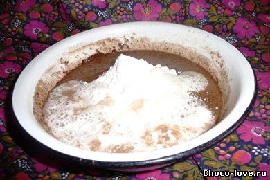 Шарлотка с яблоками и какао рецепт пошагово в духовке