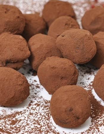 Как приготовить трюфели — конфеты