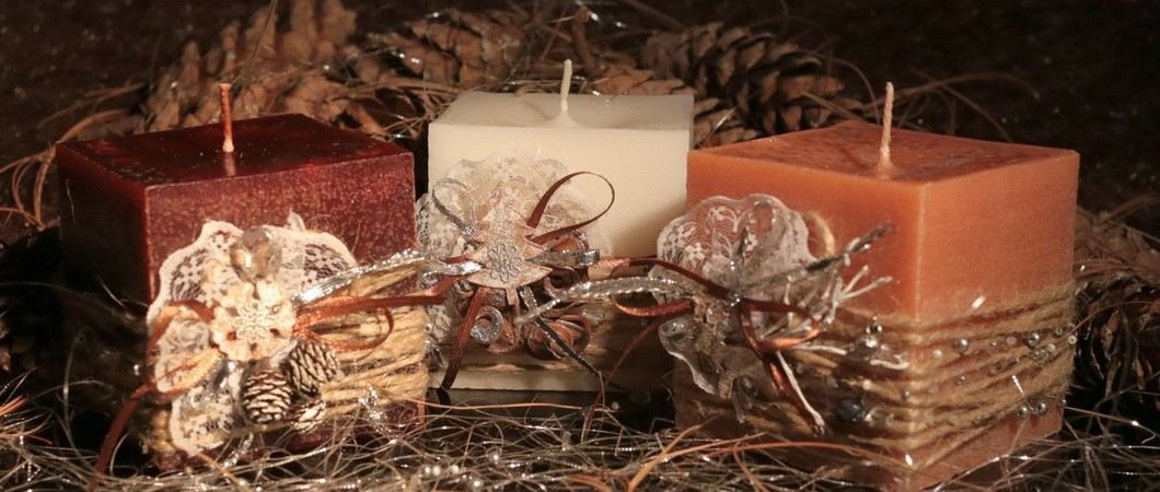 Десерт на праздник «Свечи шоколадные»