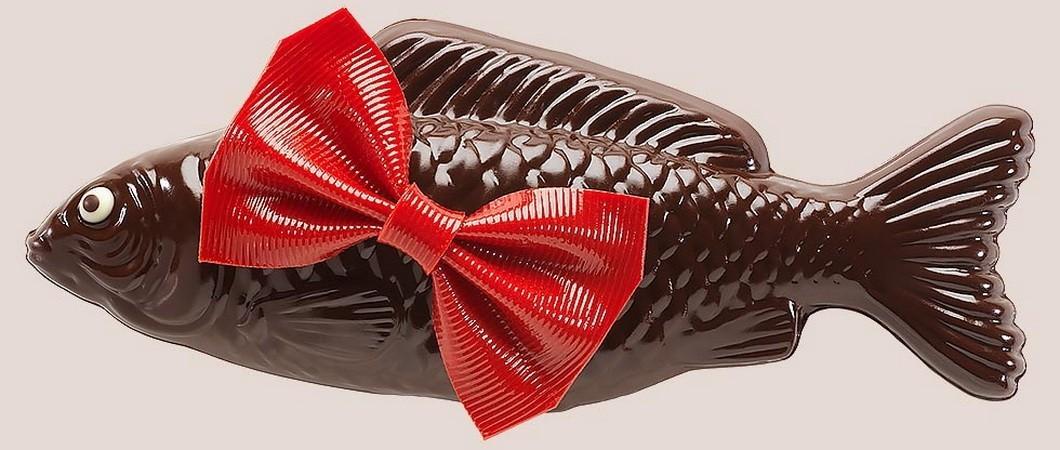 Как сделать фигурки из шоколада. Шоколадные рыбка и дельфин