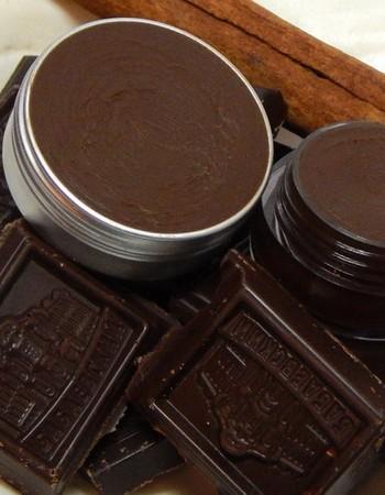 Шоколадный бальзам — блеск для губ своими руками