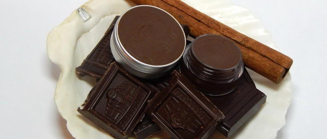 Шоколадный бальзам - блеск для губ своими руками