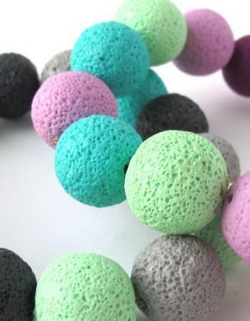 Изготовление бижутерии из полимерной глины в соляной технике. Мастер — класс с фото