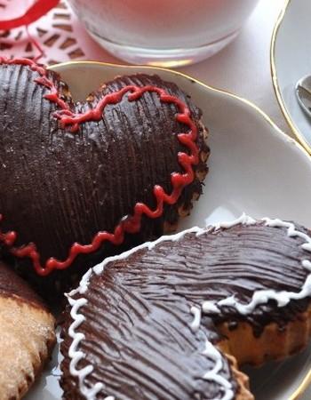 Шоколадные валентинки — десерт к ужину 14 февраля