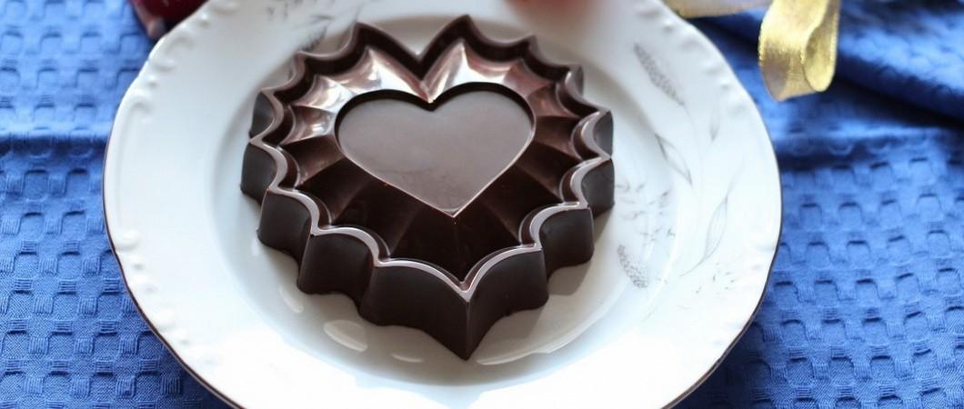 Рецепты ко Дню Святого Валентина: десерт из шоколада