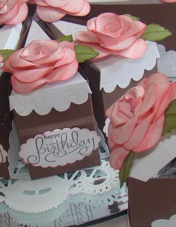 Как сделать торт из картона. Мастер — класс с фото