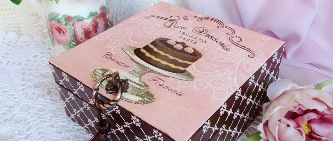 Как сделать красивую шкатулку «Шоколадный стиль» - своими руками