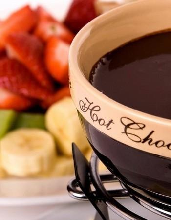 Рецепт шоколадного фондю. Как приготовить фондю без фондюшницы