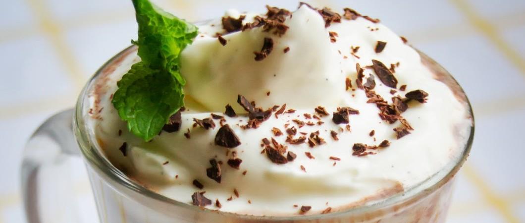 Как приготовить шоколадно – молочный коктейль с мятой