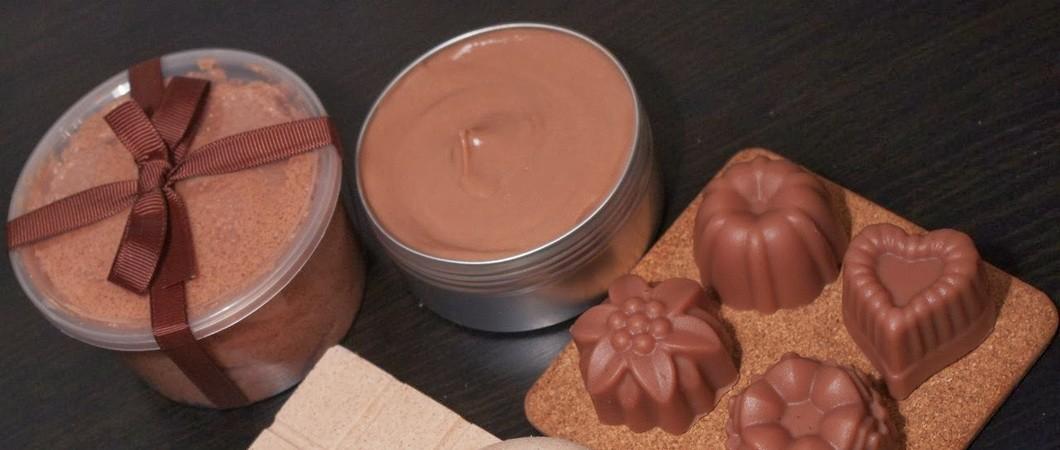 Шоколад в косметике