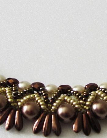 Шоколадный жемчуг — самые модные украшения 2015
