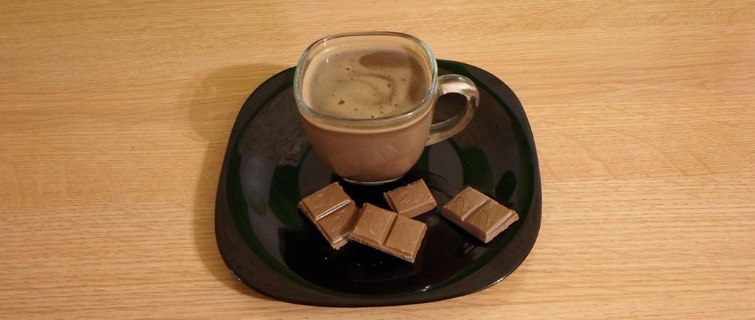 Горячий шоколад с молоком: два способа приготовления