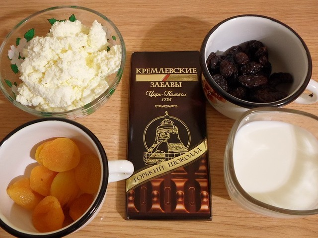 Творожные шарики в шоколаде