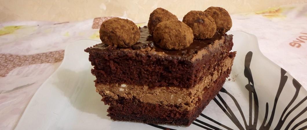 Торт «Бельгийский шоколад»: пошаговый рецепт с фото