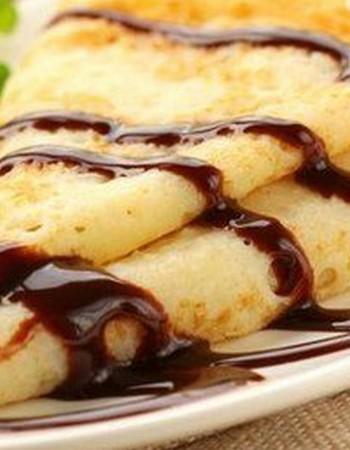 Блины с шоколадом: рецепт приготовления
