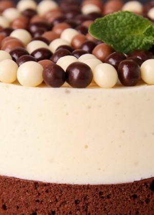 Чизкейк «Три шоколада» без выпечки от Татьяны Литвиновой