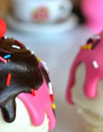 Рецепт шариков из шоколада для украшения торта