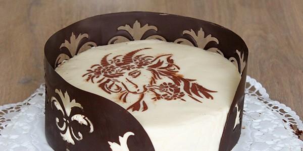 Рисунок торта своими руками