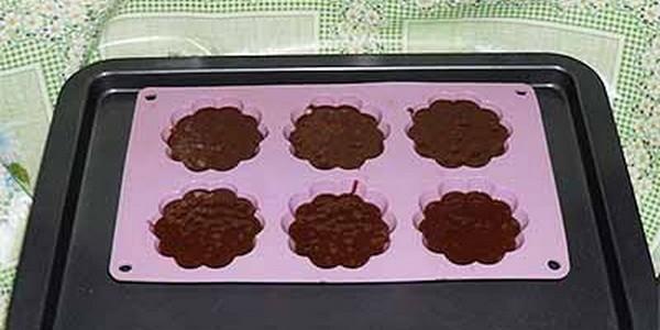 Кексы рецепты простые в формочках шоколадные