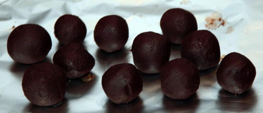 шоколадные шарики как приготовить