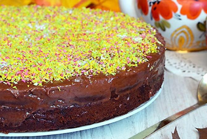 Шоколадно-сметанные торты: простые рецепты