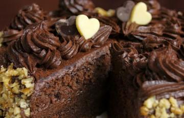 Шоколадно-сливочные торты с масляным кремом