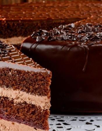 Шоколадные торты с молочным, горьким и белым шоколадом