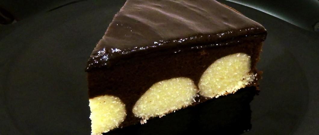 Шоколадные торты с творожными шариками в мультиварке и духовке
