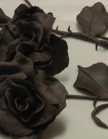 Цветы из шоколада: мастер-класс с фото и видео