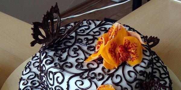 2412a-2 Как сделать бабочки из шоколада на торт своими руками: фото и мастер-класс с видео