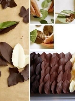 2208a-2 Украшения из шоколада