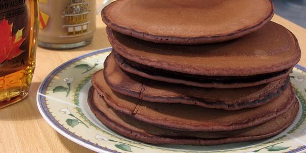 Панкейки рецепт с какао пошагово