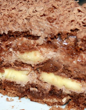 Торты из шоколадных пряников: простые рецепты без выпечки