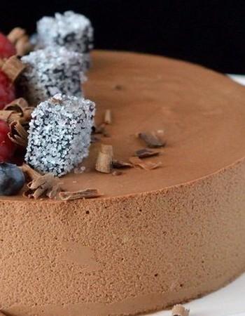 Шоколадно-муссовые торты: популярные рецепты