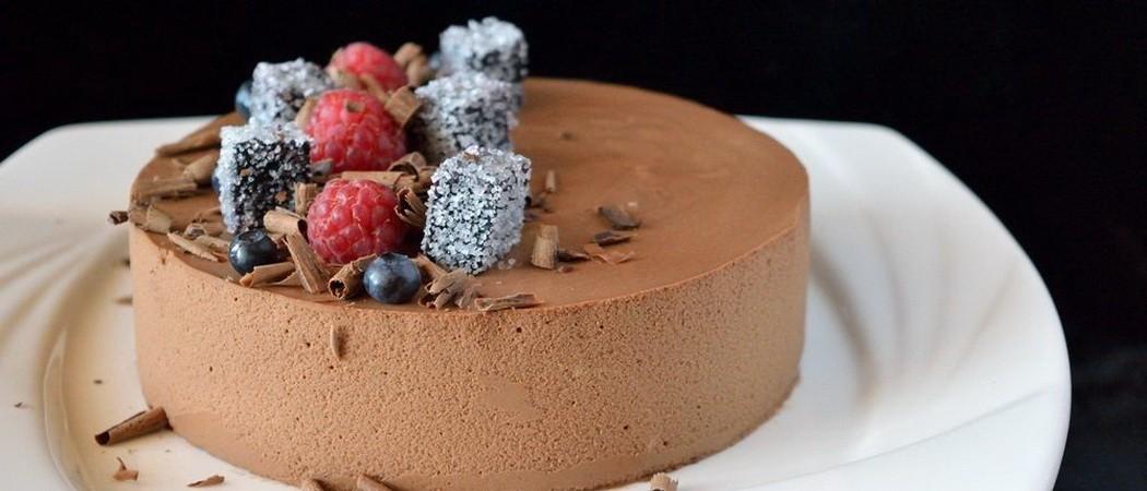 Шоколадная выпечка