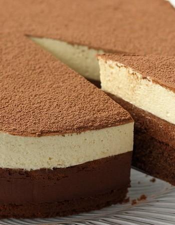 Торт «Два шоколада»: вариант приготовления