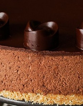 Шоколадный торт «Трюфель» с ганашом