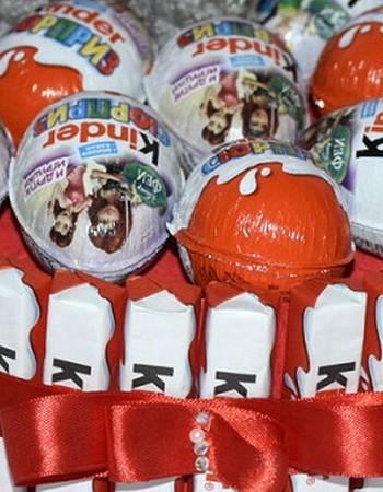 Торты из шоколада «Киндер» для детей и взрослых